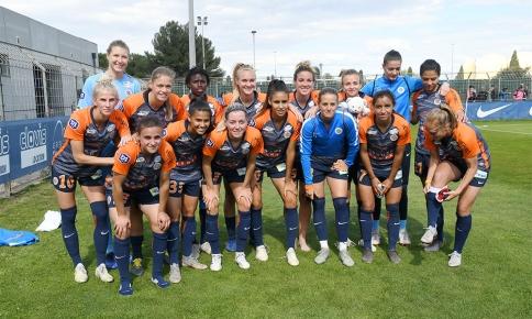 MHSC - Lille (FEM) : Les photps du match